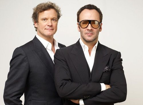 Colin Firth i Tom Ford
