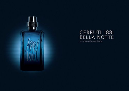 reklama Cerruti 1881 - Bella Notte Man