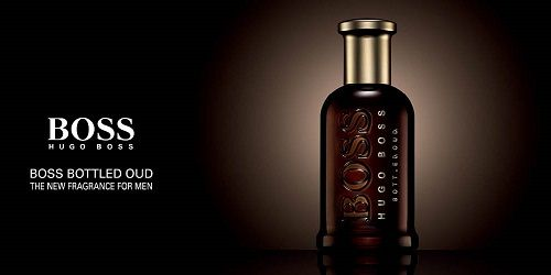 reklama Hugo Boss - Bottled Oud