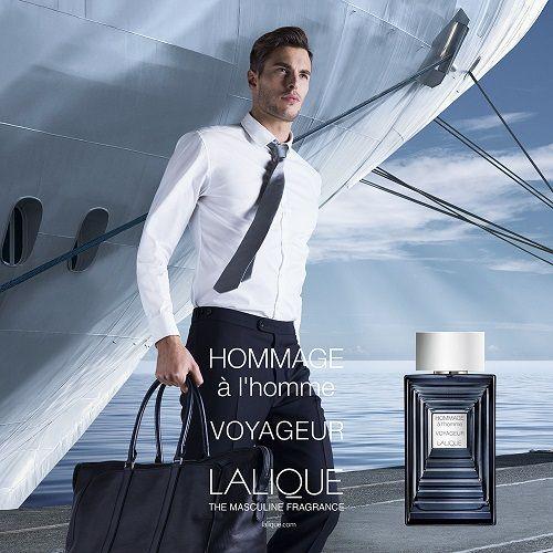 reklama Lalique - Hommage a L'homme Voyageur