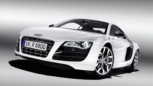 White-Audi-R8-1080p-Hd-Desktop-Wallpaper
