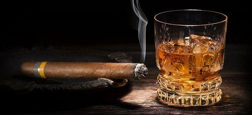 cygaro i whisky