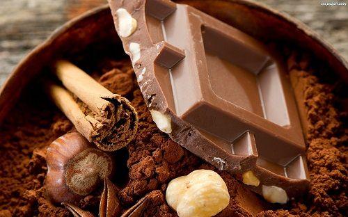 czekolada przyprawy i kakao