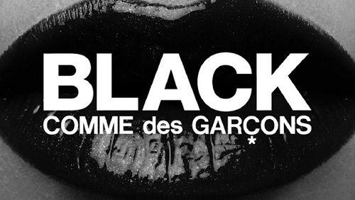 reklama Comme des Garcons Black