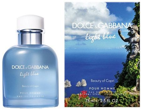 Dolce&Gabbana - Light Blue Pour Homme Beauty of Capri