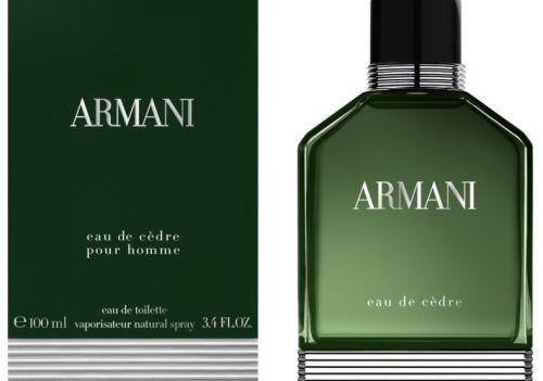 Giorgio Armani - Eau de Cedre box