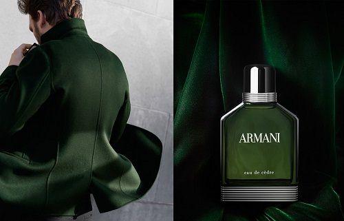 reklama Giorgio Armani - Eau de Cedre