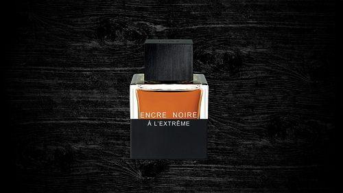 reklama Lalique - Encre Noire A L'Extreme EdP