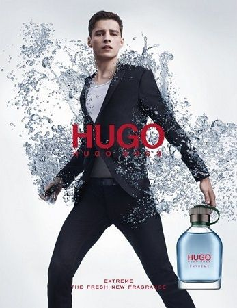 Hugo Boss - Extreme Man EdP z modelem