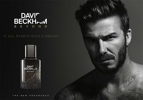 David & Victoria Beckham - Beyond Men reklama